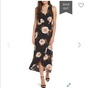 NWT Leith wrap around dress, size Medium